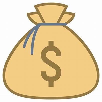 Money Bag Icon Clipart Bags Transparent Clip