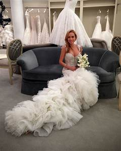 jaclyn santos artist jaclyn santos modeling behind the With most expensive wedding dress on say yes to the dress