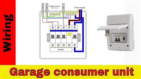 How Wire Rcd Garage Shed Consumer Unit