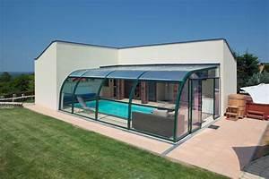 Abri Piscine Haut : abris haut adoss de piscines marsillargues ~ Zukunftsfamilie.com Idées de Décoration