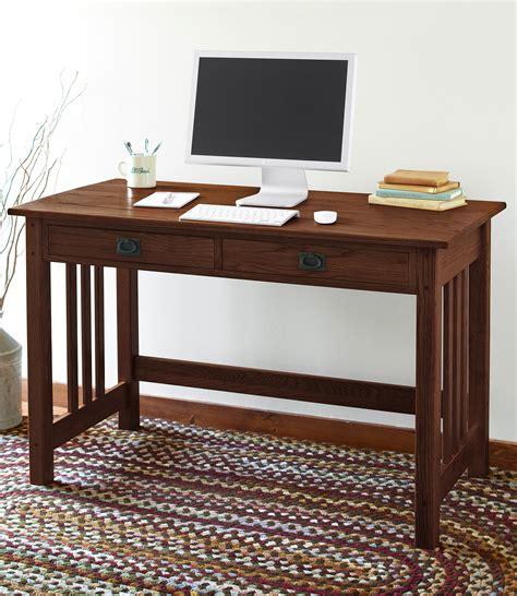 mission style computer desk