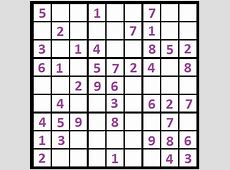 Sudoku Puzzles Easy Free HD Images