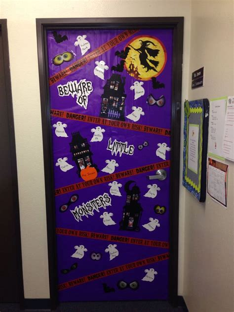 halloween classroom door teaching ideas pinterest