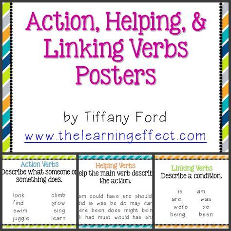 helping verbs vs linking verbs worksheet helping verbs