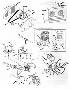 Speedaire 4b218  4b219 Air Compressor Parts