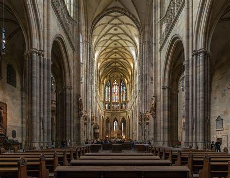 fileinterior  st vitus cathedral nave prague