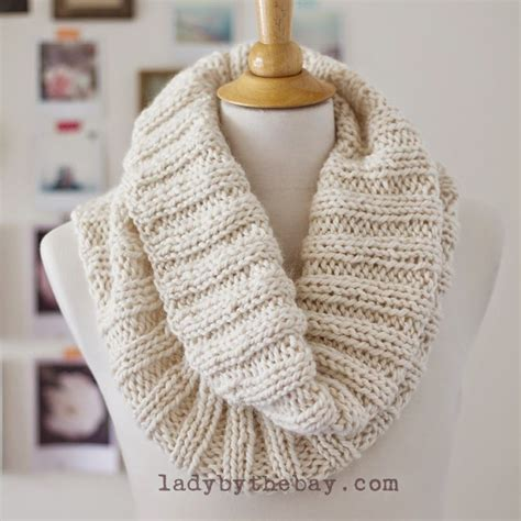 Ribbed Knit Scarf cozy ribbed scarf pattern knitting knitting chunky