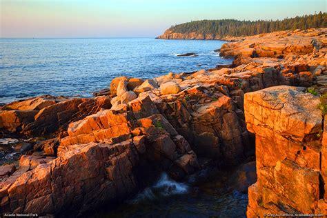 acadia national park otter cliff sunrise