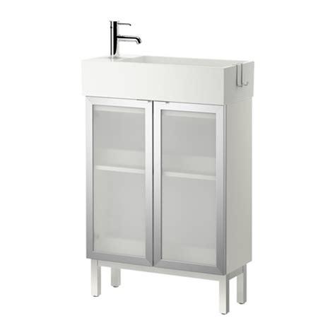 Ikea Lillangen Sink Cabinet by Lill 197 Ngen Sink Cabinet With 2 Doors Aluminum 60x27x93