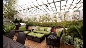 Creative Rooftop garden design ideas - YouTube