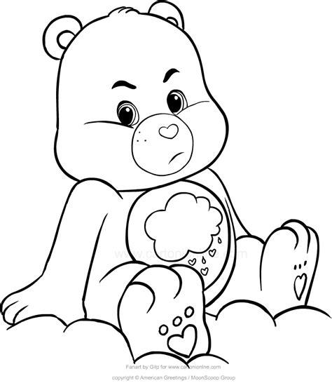 disegno cuore da stare e colorare disegno di brontolorso orsetti cuore da colorare
