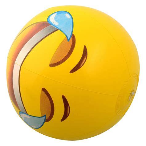 12pcs Emoji Universe 12 Inch Emoji Inflatable Beach Balls