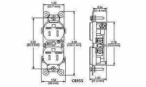 leviton cr15s gi 15 amp 125 volt nema 5 15r 2p 3w With hubbel wiring