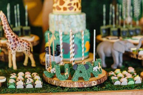 karas party ideas mickey mouse jungle safari birthday