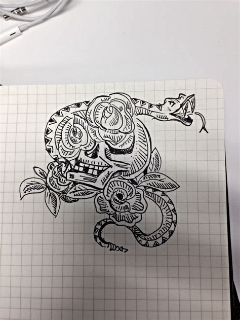 skull rose tattoos ideas  pinterest  sleeve tattoos  anchor skull tattoos
