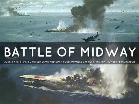World War II Battle of Midway