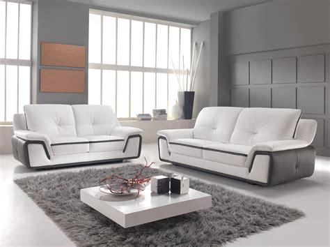 canapé cuir design luxe canape cuir blanc design italien canapé idées de
