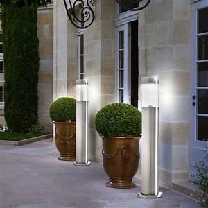 Lampen Für Garten : 2er set led sockel lampen solar steh leuchten garten weg edelstahl lampen terrassen beleuchtung ~ Eleganceandgraceweddings.com Haus und Dekorationen