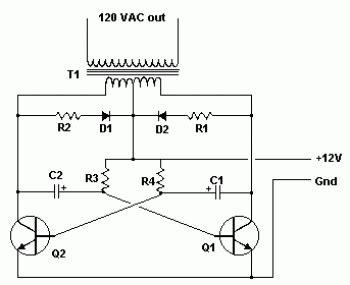 Inverter Electronic Schematic Diagram