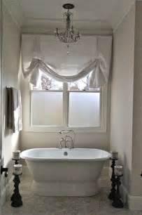 ideas for bathroom window treatments bathroom window treatments home ideas designs