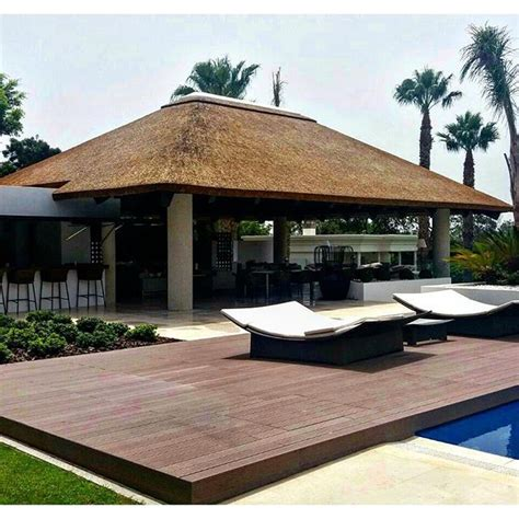 Thatched Roof House With Outdoor Entertaining Spaces by The 232 Best Images About Beautiful Thatch Homes On
