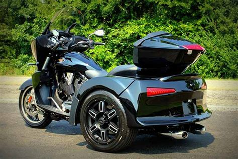 Motor Trike Vortex Is A Modified Victory