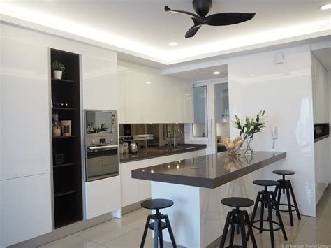 Modern Interior Design Ideas For Kitchen by Meridian Interior Design And Kitchen Design In Kuala