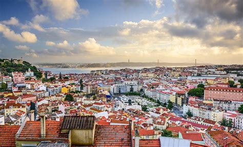 a lisbona a mini map guide to lisbon portugal