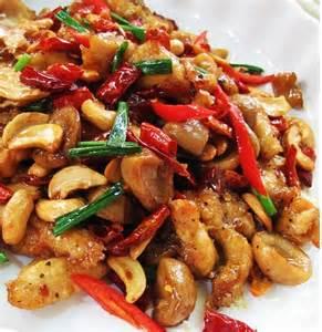 Thai Cashew Nut Chicken Recipe