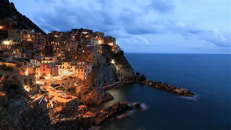 manarola  sunset  wallpapers hd wallpapers id