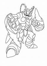 Coloring Pages Giants Skylander Printable sketch template
