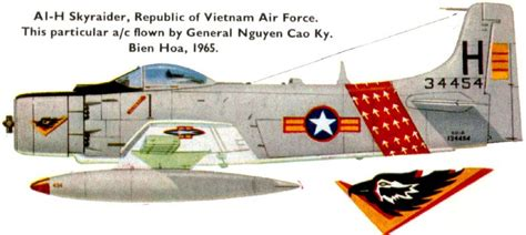 Douglas Skyraider Of The South Vietnamese Air Force, The