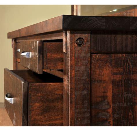 timber dresser home envy furnishings solid wood