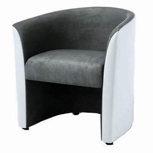 Fauteuil Cabriolet Gris : fauteuil cabriolet gris achat vente fauteuil cabriolet ~ Teatrodelosmanantiales.com Idées de Décoration
