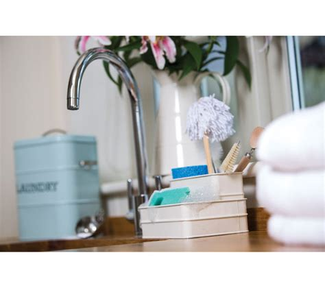 Buy Kitchen Craft Living Nostalgia Sink Tidy  Cream