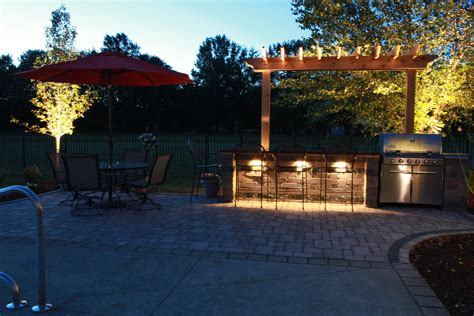 Outdoor Lighting Photos  Baron Landscaping Cleveland Oh