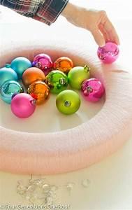 Dekokugeln Selber Machen : die besten 25 dekokugeln ideen auf pinterest weihnachtsschmuck kinder christmas deko und ~ Watch28wear.com Haus und Dekorationen