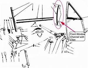 Mopar Door Glass Vent Window Channel Seal Kit Dart Charger