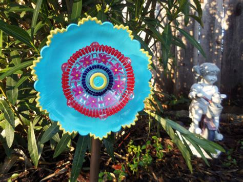 Glass Flower Garden Art By Sasafras Flowers Contemporary