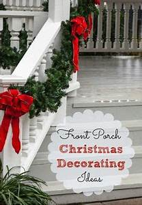 Christmas Porch Decorations on Pinterest