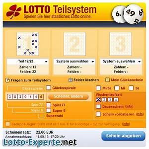 Lotto Kosten Berechnen : lotto24 teilsystem 12 22 ~ Themetempest.com Abrechnung