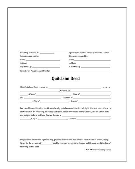 quit claim deed template befcfbdfeaeedaff