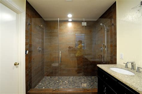Home Depot Two Sink Vanity by How Much Do Frameless Glass Shower Doors Cost