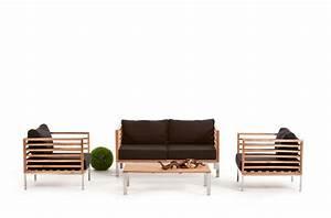 Lounge Gartenmöbel Holz : rattan lounge rio ~ Indierocktalk.com Haus und Dekorationen