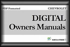 2003 Chevy    Chevrolet Impala Owners Manual