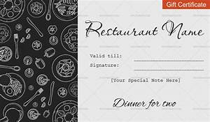 Gift Certificate Template Word Free Download Dinner For Two Gift Certificate Templates Editable