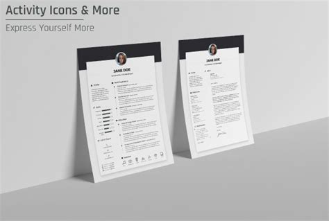 Cv Resume Cover Letter Template Psd Ai by Free Resume Cv Design Template Cover Letter In Doc Psd
