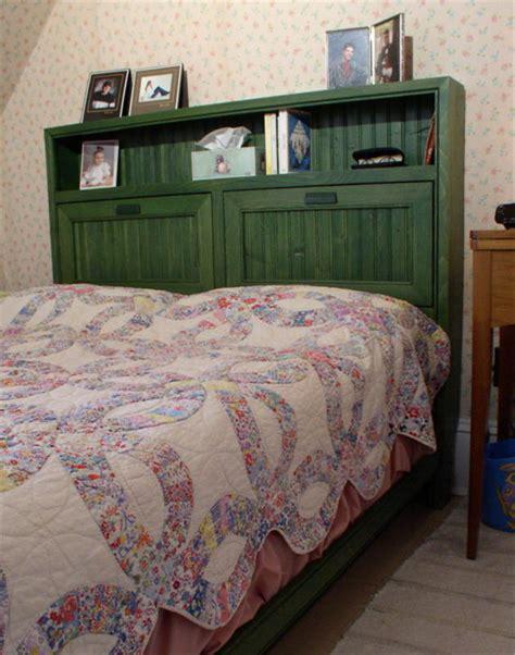 toin bookcase headboard plans
