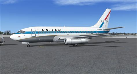 united airlines boeing   mainliner  fsx
