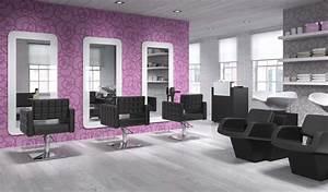 Mobilier Salon De Coiffure : pack mobilier salon pride 3 postes destockage grossiste ~ Teatrodelosmanantiales.com Idées de Décoration